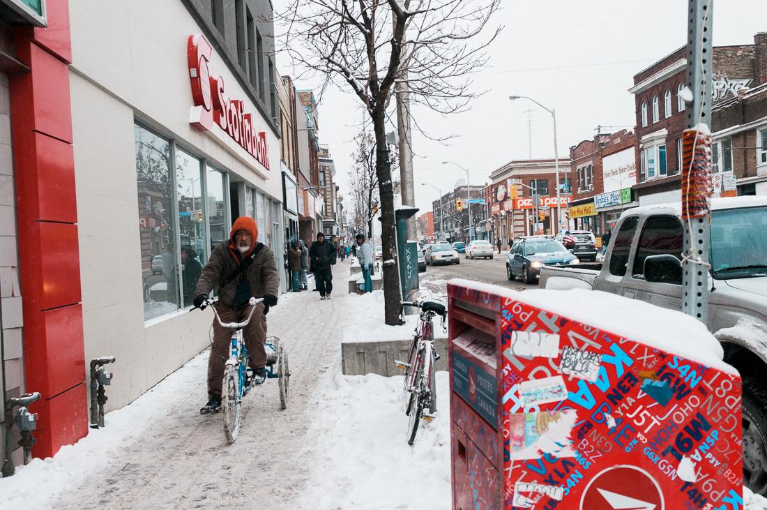 Toronto Kanada zima