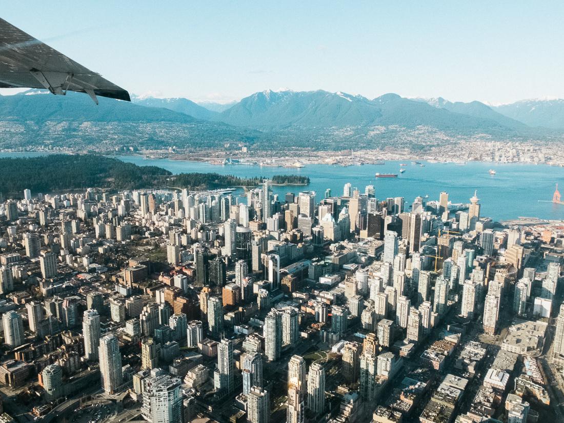 Vancouver Columbia Brytyjska Kanada