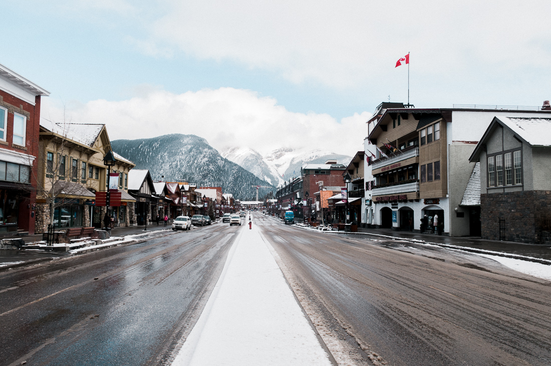 Banff Alberta Kanada