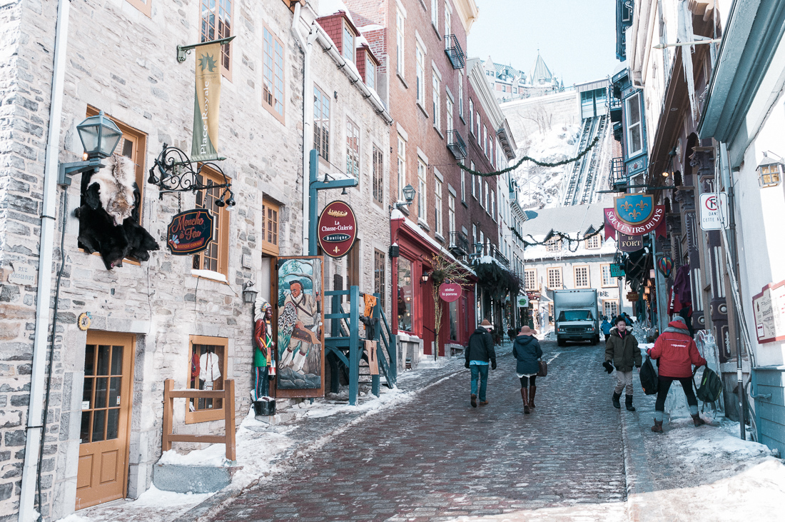 Quebec City Quebec Kanada