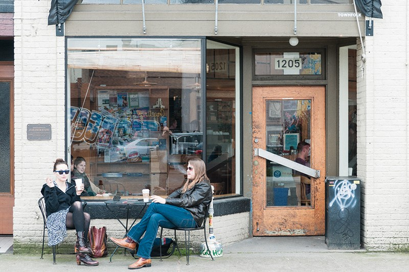 Szybka kawa w Seattle