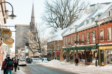 Quebec City Kanada