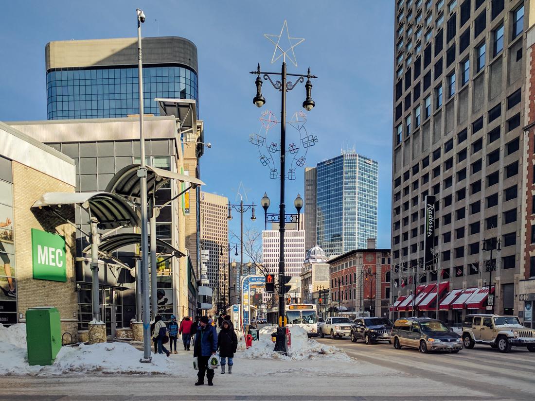 Kanada, życie w Winnipeg