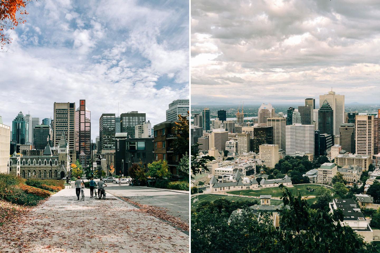 Montreal jesienią i wiosną