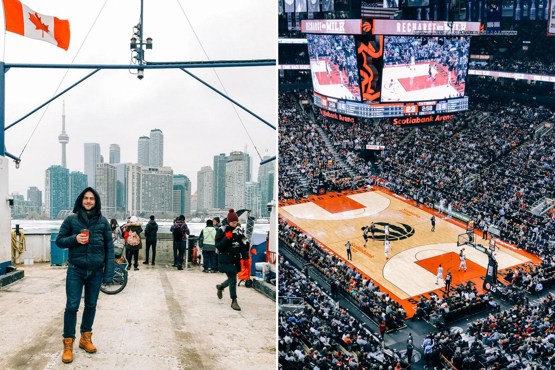 Widok na Toronto z Toronto Island