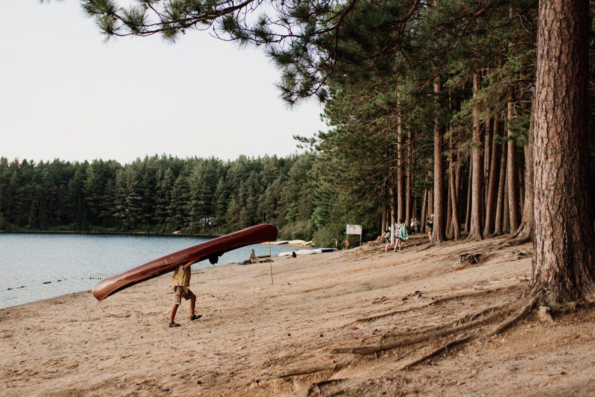 Kanadyjski Kajak zwany canoe