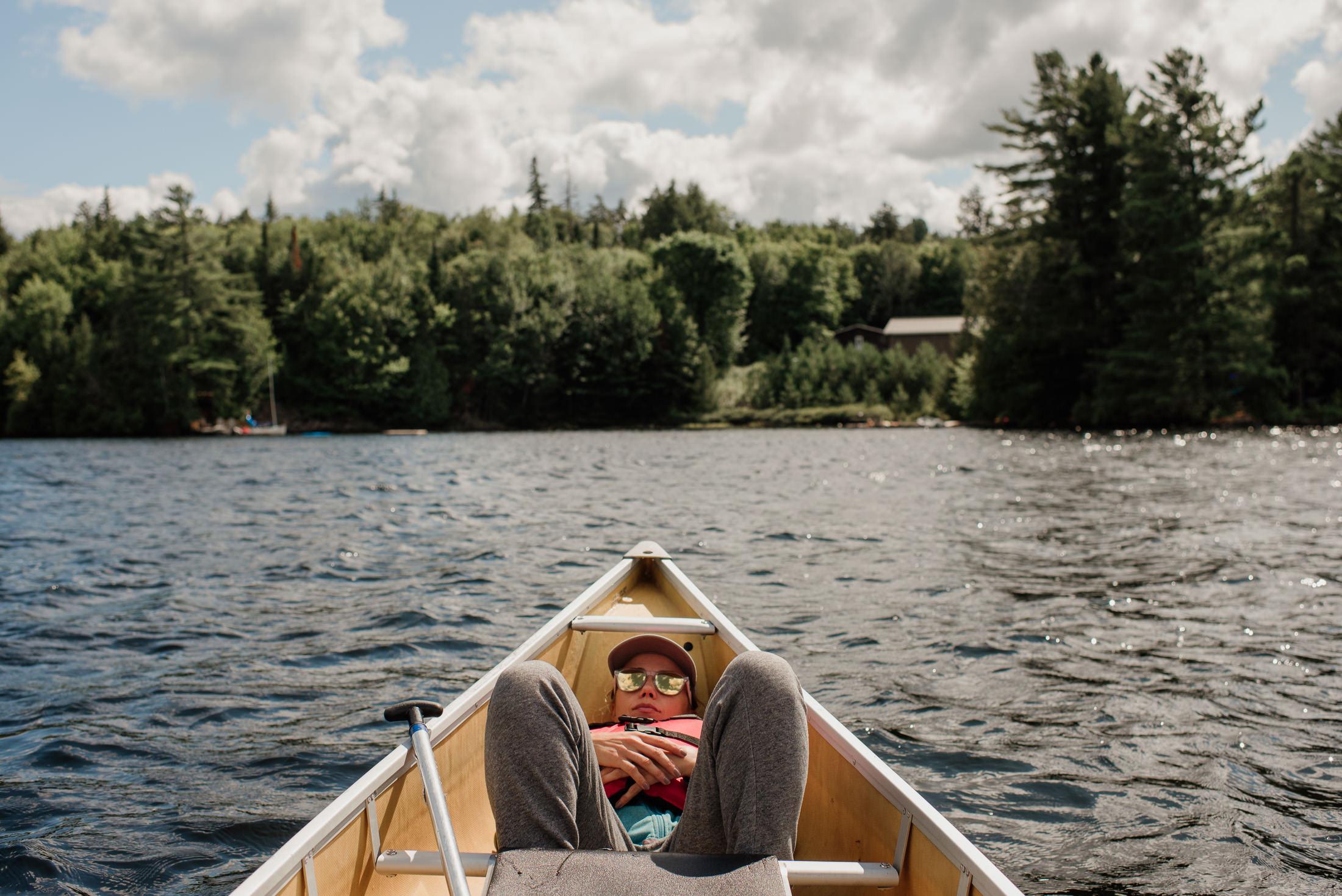 pływanie kajak Kanada