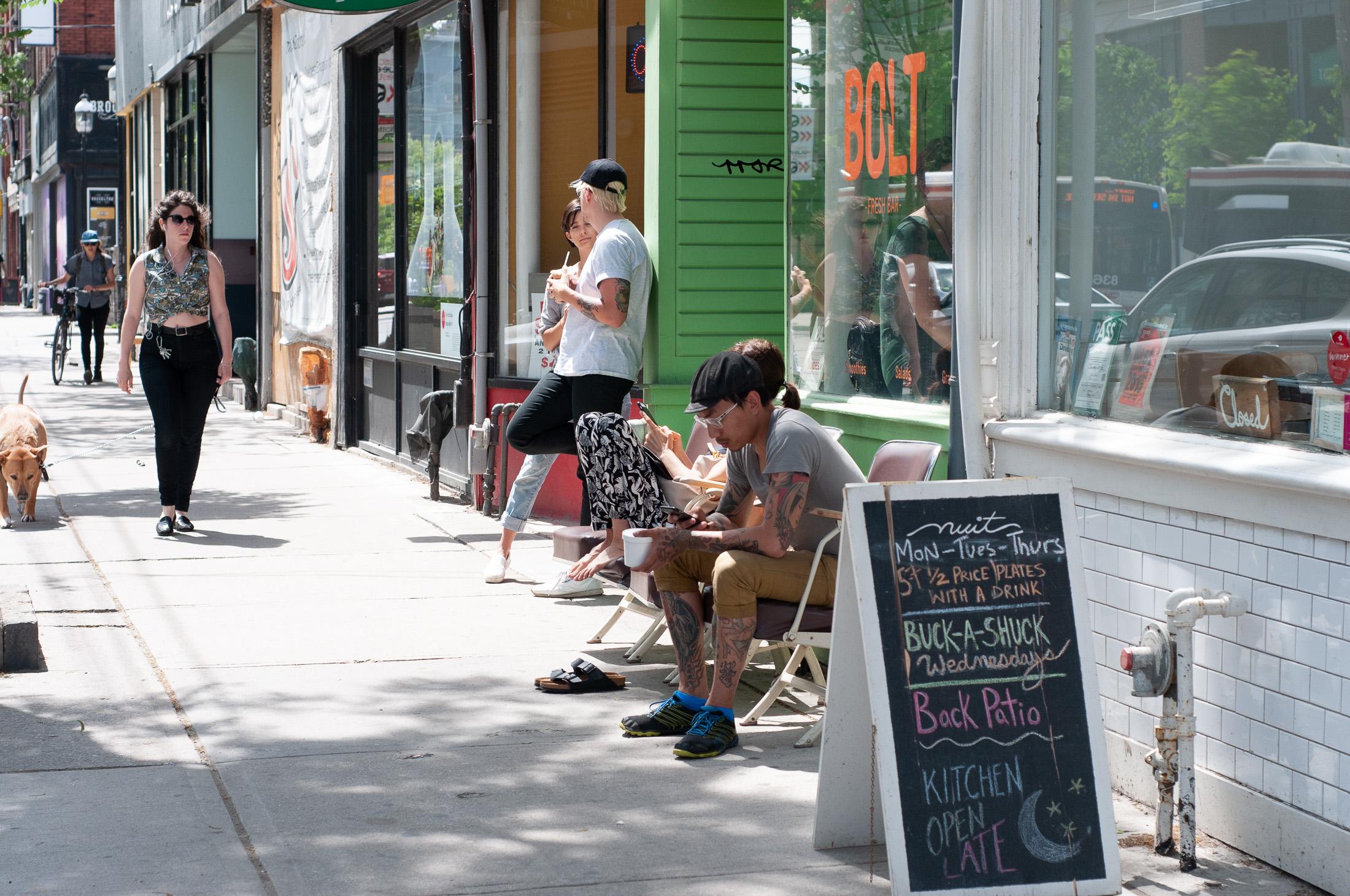 Ulica Queen West Toronto